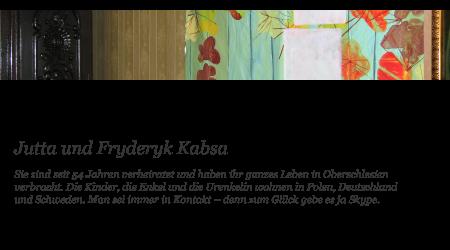 Jutta und Fryderyk Kabsa